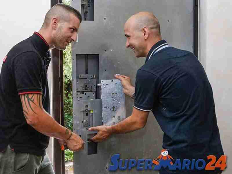 Servizio riparazione serratura porta blindata