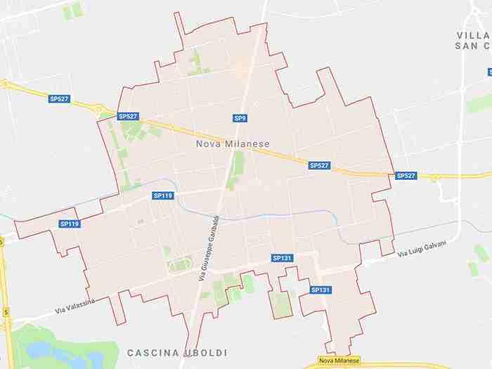 mappa nova milanese mb