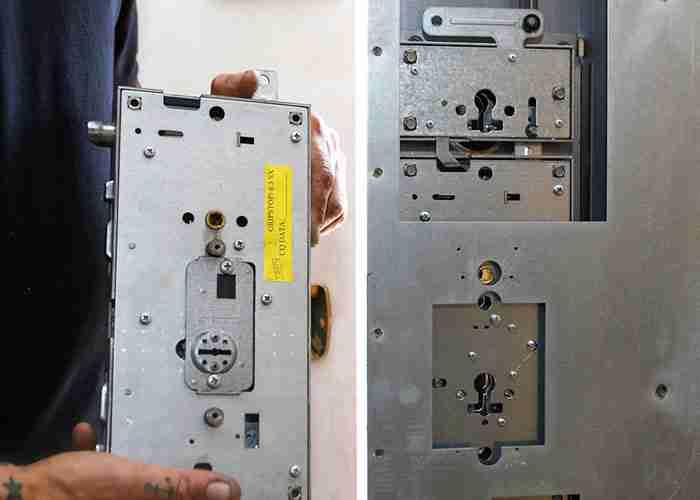sostituzione serratura porta blindata a Rho