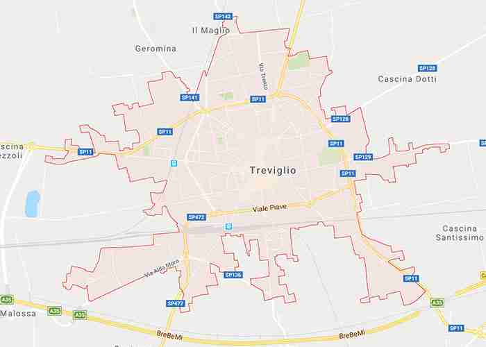 mappa treviglio bg