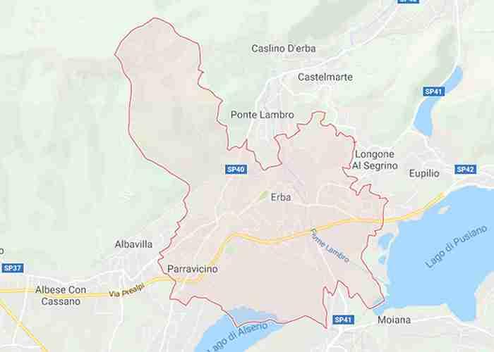Erba provincia Como