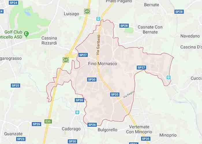 Fino Mornasco provincia di Como