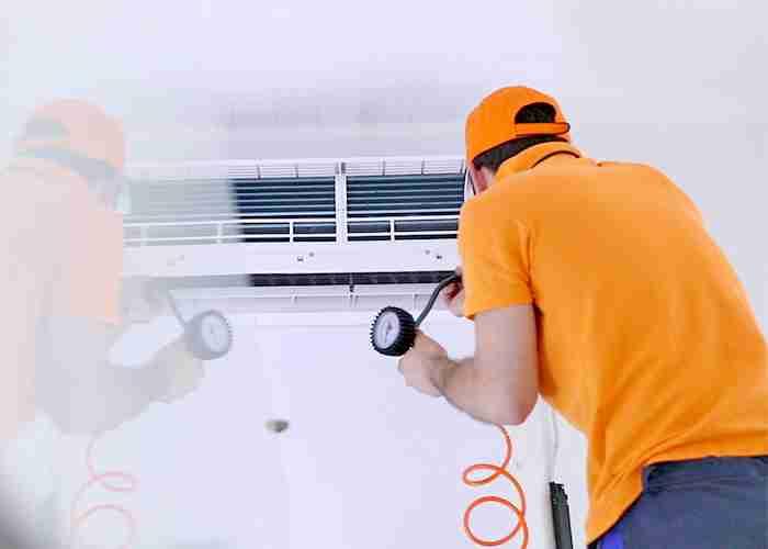 servizio di pulizia unità interna del climatizzatore a rozzano