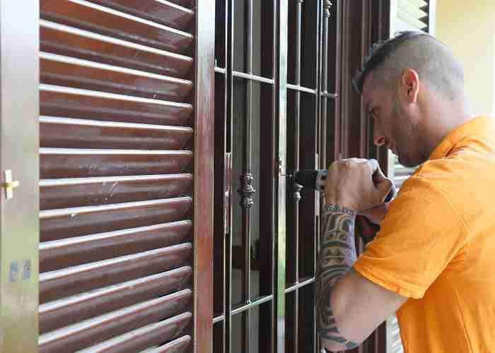 I fabbri di SuperMario24 le serrature delle grata di sicurezza