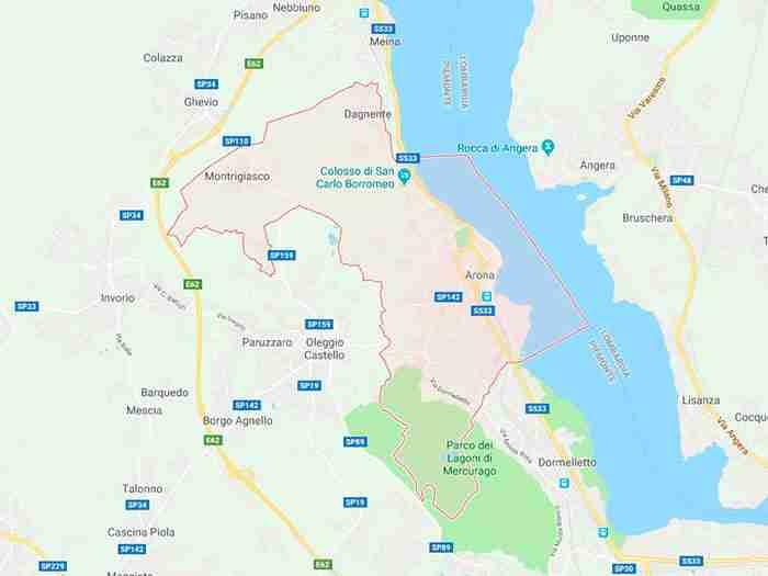 Arona provincia di Novara
