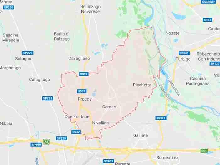 Cameri provincia di Novara