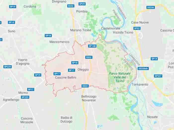 Oleggio provincia di Novara