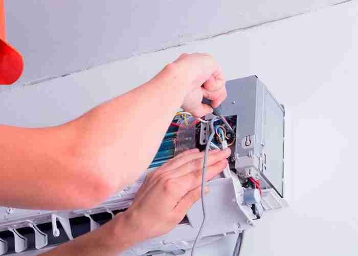 supermario24 riparazione scheda condizionatore rotto