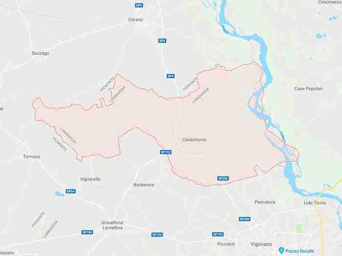 Cassolnovo provincia Pavia
