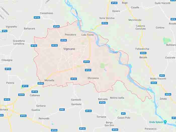 Vigevano provincia Pavia