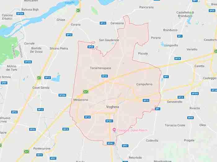 Voghera provincia di Pavia