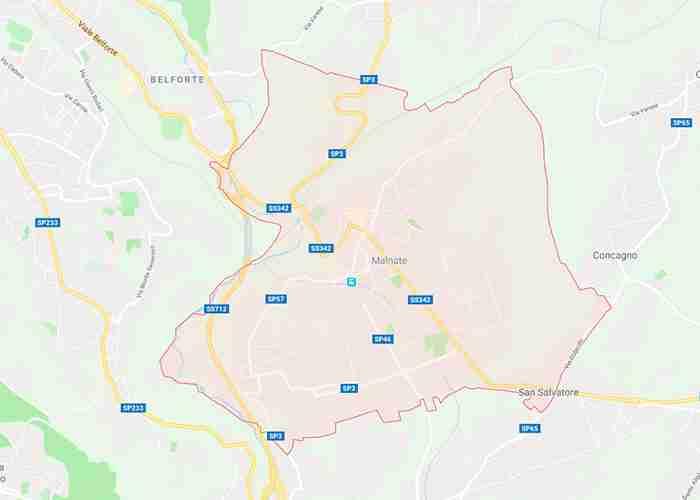 Malnate provincia Varese