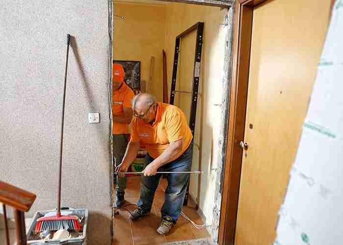 Interventi per la sostituzione della porta blindata