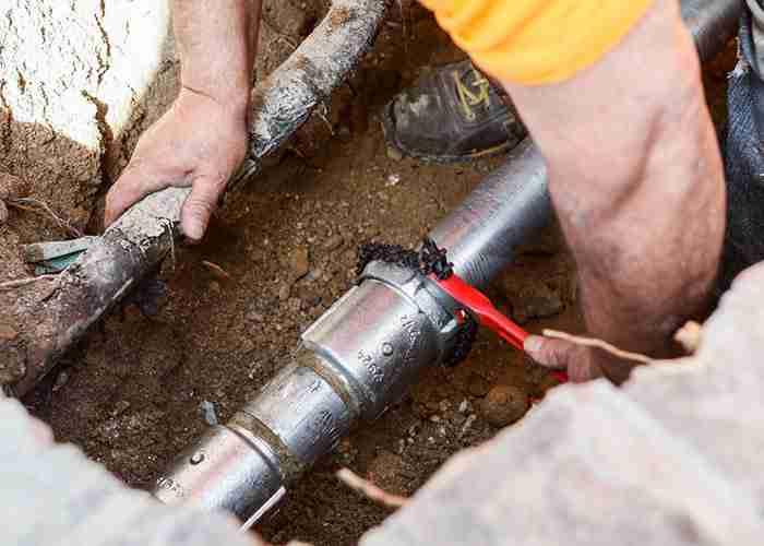 Servizio di riparazione tubature