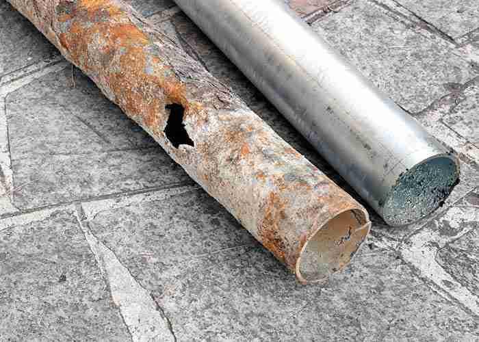 Servizio di sostituzione tubi idraulici rotti