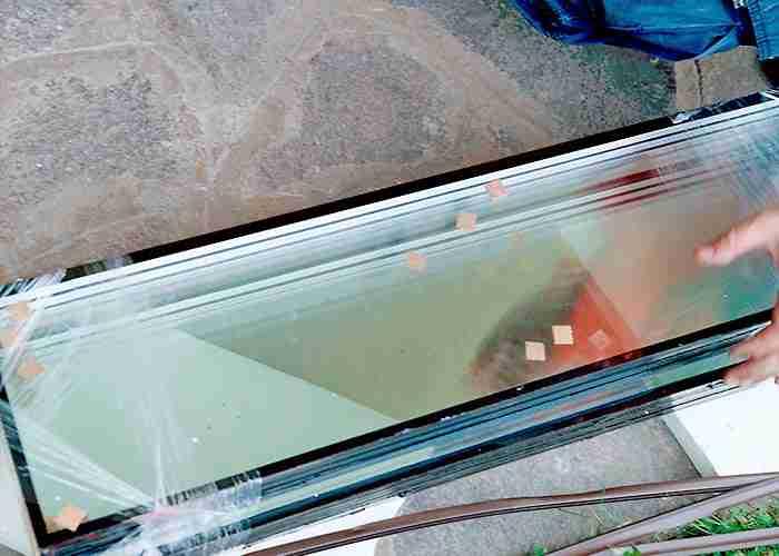 Sostituzione vetro dei serramenti